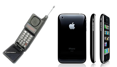 Motorola - Microtac X Apple - IPhone